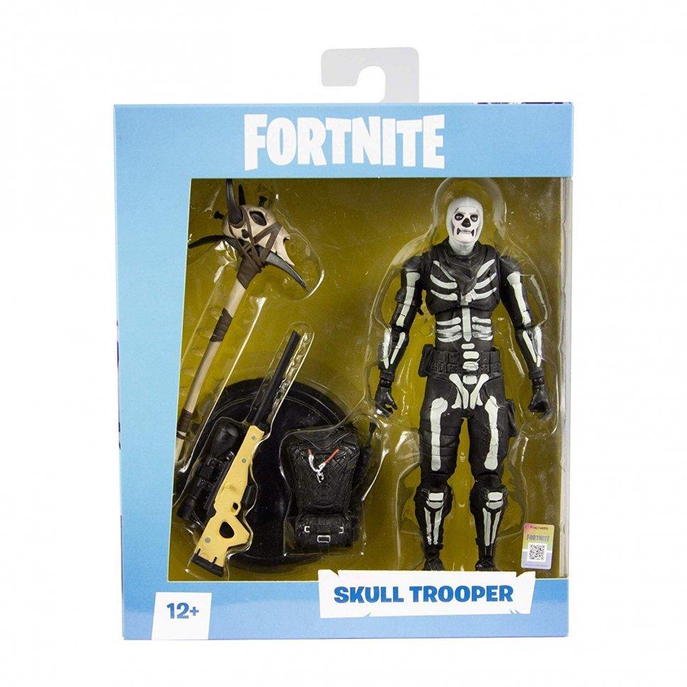 figurka fortnite fortnajt mcfarlane skull trooper action figure - fortnite storm trooper